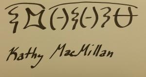 sample of Arnath writing