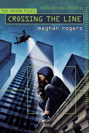The Debut Club: Meghan Rogers dishes on her new YA spy thriller, CROSSING THE LINE